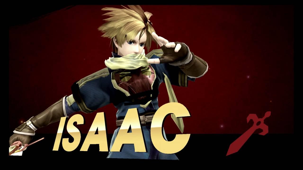 """Isaac"" (Golden Sun) in Super Smash Bros. Wii U - YouTube  ""Isaac&quo..."