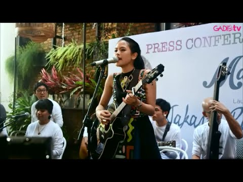 Maudy Ayunda - Jakarta Ramai (Live at Press Conference Launching Single)
