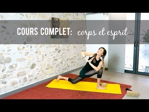 Cours de yoga pour le corps et l'esprit