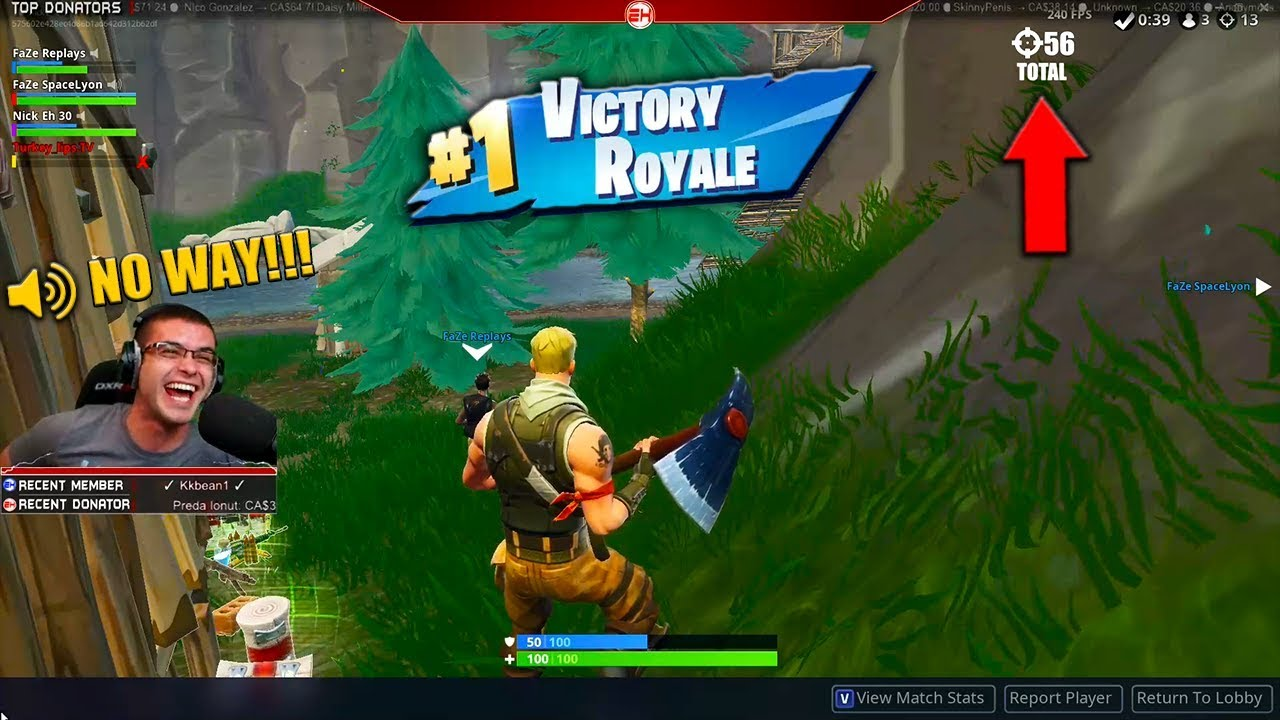 The Day We Broke The World Record Of 56 Kills In 1 Match Fortnite