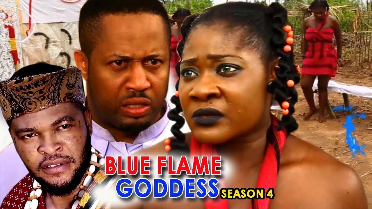 Download Blue Flame Goddess Season 4 - Mercy Johnson 2018 Latest Nigerian Nollywood Movie Full HD   1080p