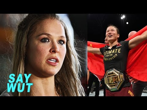 Ronda Rousey Reacts To Weili Zhang TKO Win Over Jessica Andrade