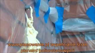 Ocieplenia Pianami - Wypełnianie ścian pianką poliuretanową