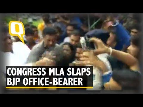 Watch: Congress MLA Slaps BJP Office-Bearer in Madhya Pradesh