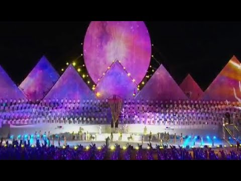 Церемония открытия Всемирных игр кочевников - World Nomad Games. Opening ceremony