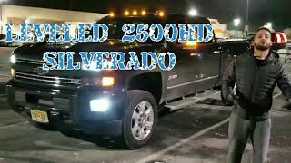 2500HD DURAMAX Finally level, ready for 20×12 rims
