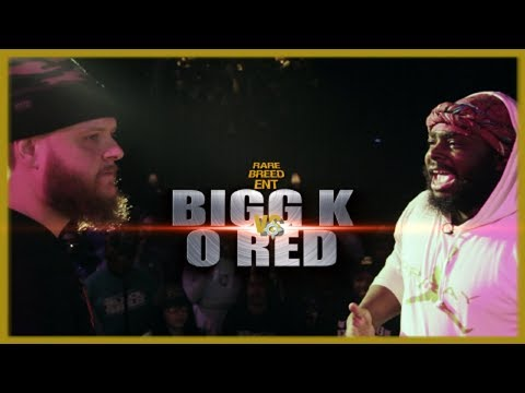 BIGG K VS O RED RAP BATTLE - RBE