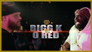 BIGG K VS O RED RAP BATTLE - RBE