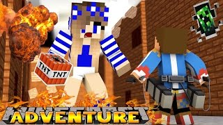 giant carly destroys my palace minecraft little donny adventures