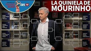 La quiniela de Mourinho para el Mundial 2018: ojo a España y Portugal | Diario AS