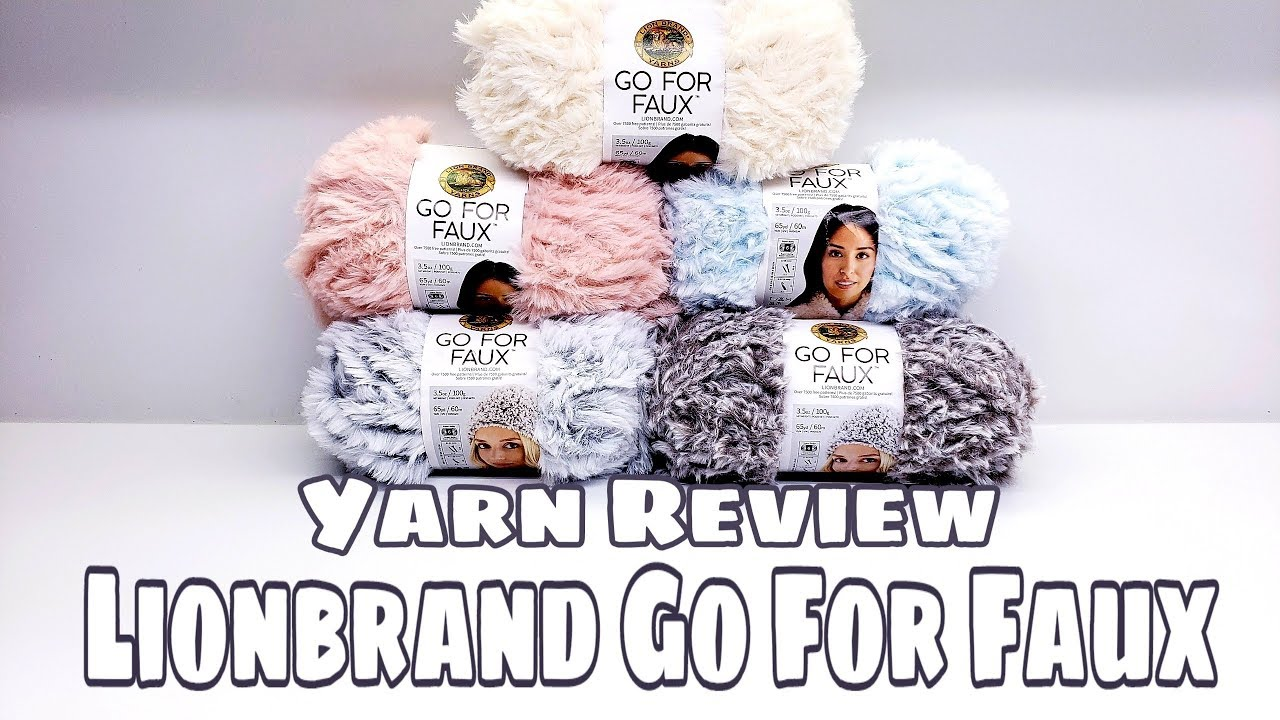 Go For Faux™ Yarn | Lion Brand Yarn