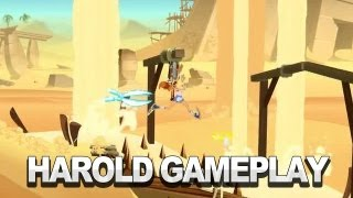 Harold Gameplay Clip On Desert