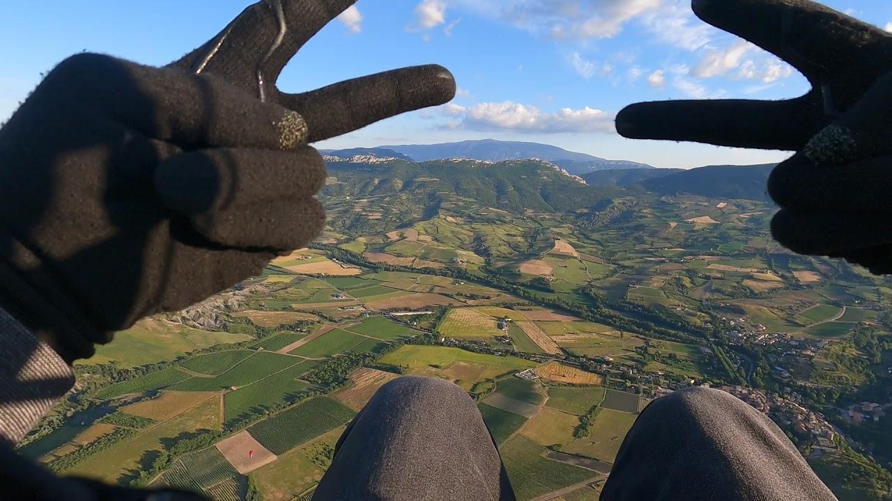 Relaxing with paragliding 5 #altitudezero