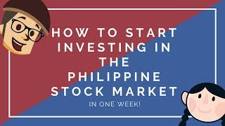 How to Invest iฑ Stocks for Beginners   Philippine Stock Market