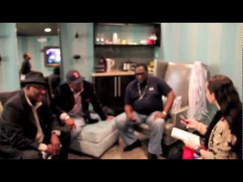 THE O'JAYS interview w/ Pavlina in FLorida backstage