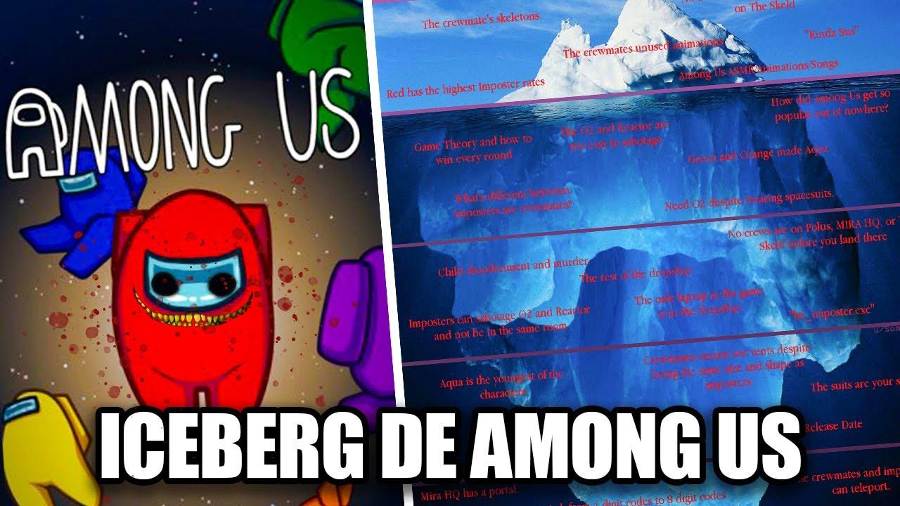 El Iceberg de Among Us Explicado (Misterios y Teorías)