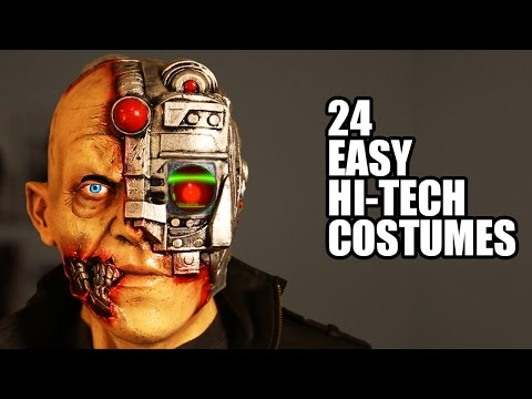 24 EASY Hi-Tech Halloween Costumes I invented