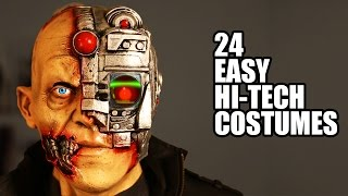 24 EASY Hi-Tech Halloween Costumes