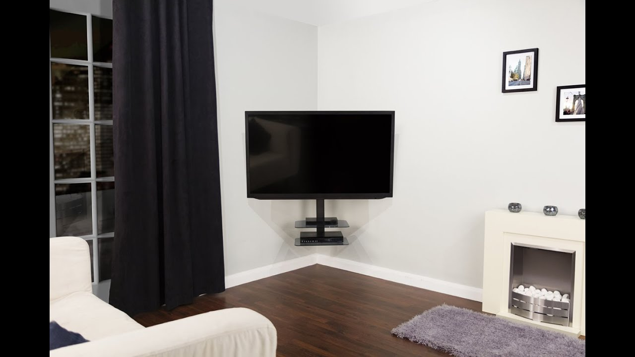 Floating Corner TV Mount With
