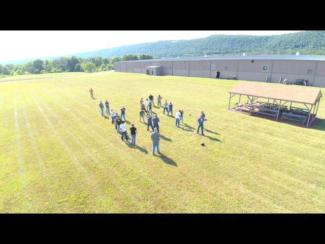 Hegins outdoor training1