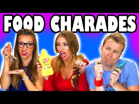 Movie Challenge with Food Charades  Totally TV
