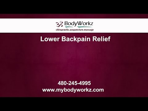 Mesa Lower Back Pain Relief | BodyWorkz