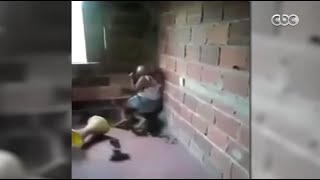 بالفيديو.. مأساة أم.. زوجها ضربها وحرمها من أبنائها
