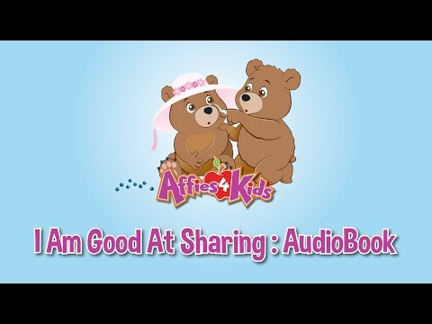 I Am Good At Sharing - AudioBook - Affies4Kids
