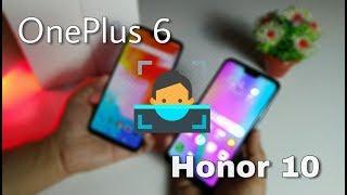 Honor 10 or OnePlus 6 / fingerprint & fastest Face Unlock Test