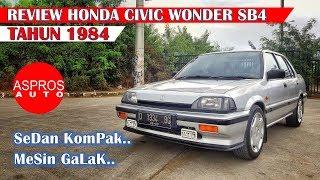 Review Sedan Tua Jantung Muda : Honda Civic Wonder Sb4 Tahun 1984 By Aspros Auto