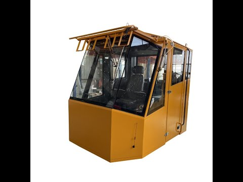 Rock Drilling Machinery Cabin Assembly