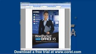 .dat file?  Watch how easy it is to use Corel WordPerfect Office to open a .dat file.