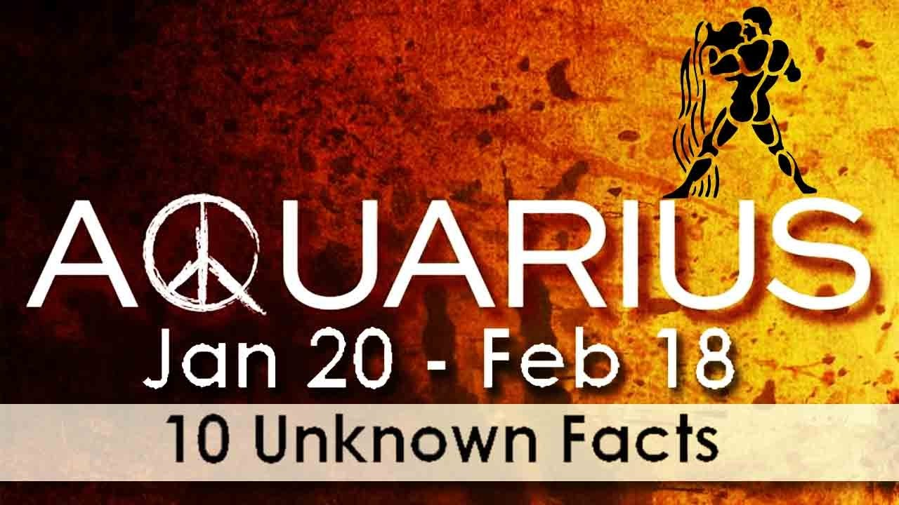 10 Unknown Facts about Aquarius