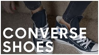 The Best Way To Tie Your Converse Shoes - Secrets Of A Stylist