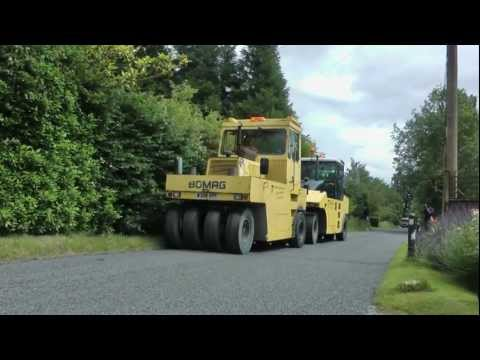 Buxhall Road Tarring (Resurfacing) by Colas and Suffolk County Council Highways
