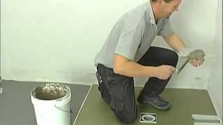 Nuovo sistema di drenaggio per docce a filo pavimento Olifilo centro ribassato [ITA]