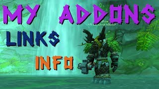 My Classic WoW Addon list! Timestamps, links, and information!