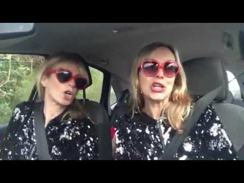 Mel & Kim's  Carpool Karaoke for CLIC - Video Killed the Radio Star 🎶🎤