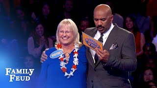 Wow Whitney Crushes Fast Money  Family Feud
