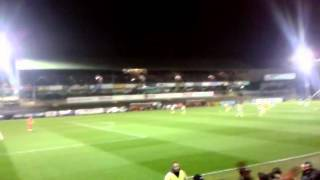 Argyle Streaker + Kick Off for Argyle vs Exeter
