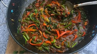 Easy Chinese Beef Stir Fry   Shredded Beef Sauce