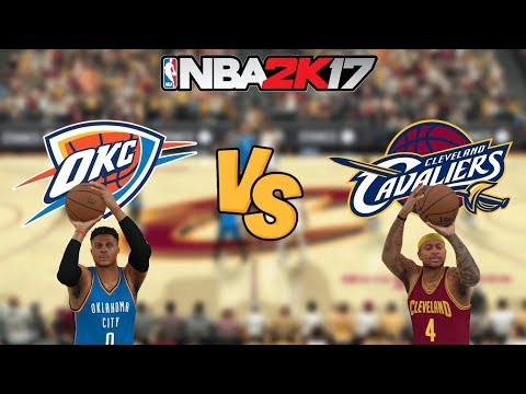 NBA 2K17 - Oklahoma City Thunder vs. Cleveland Cavaliers (ISAIAH!) - Full Gameplay (Updated Rosters)