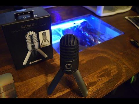 samson meteor mic sound comparison review youtube. Black Bedroom Furniture Sets. Home Design Ideas