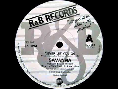 Savanna - Never Let You Go (Dj ''S'' Remix)
