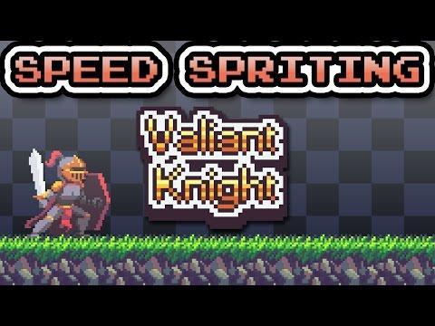 Speed Spriting - Valiant Knight