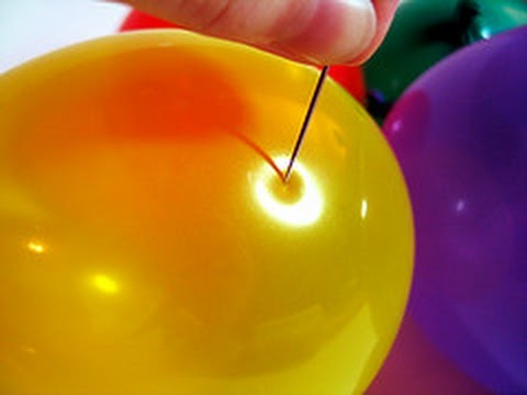 10 Creative Ways to Pop a Balloon