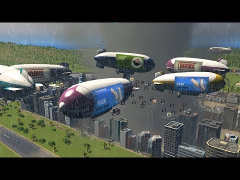 When City Planning in Cities Skylines requires over 600 Blimps