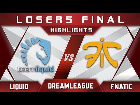 Liquid vs Fnatic LB Final DreamLeague 9 Minor 2018 Highlights Dota 2 thumbnail