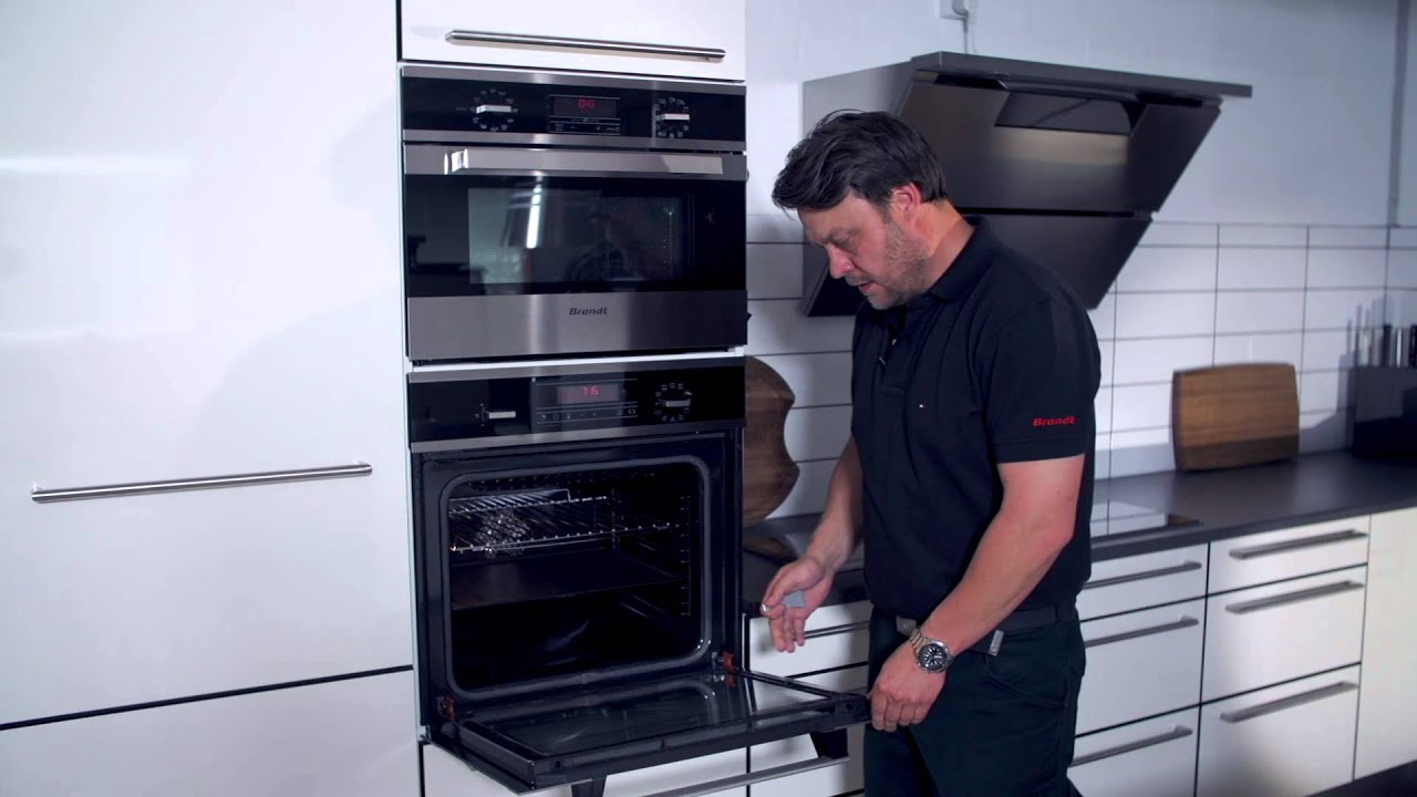 Rengør inderglas på Brandt ovn - YouTube