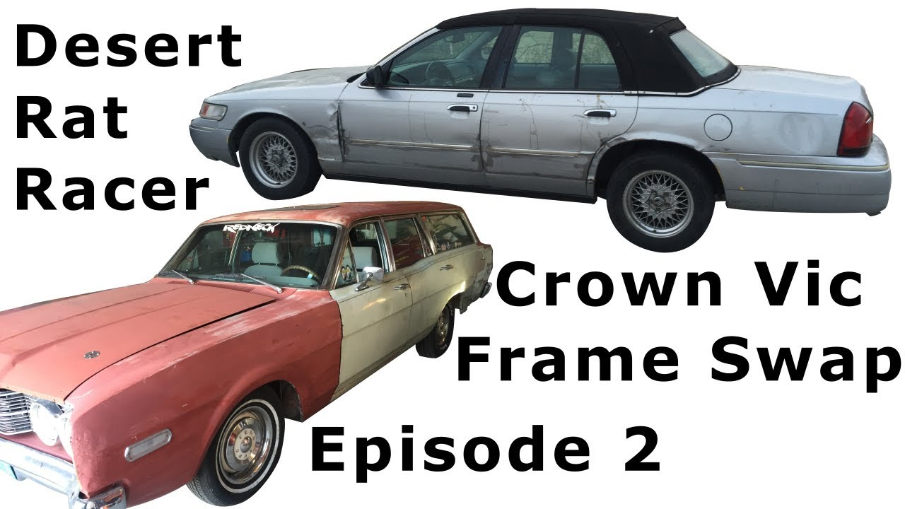 Project Redneck Ep 2 Crown Vic Frame Swap with 68 Mercury